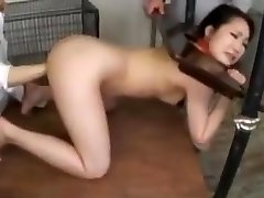 asian slave trained at the farm