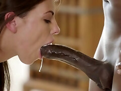 BLACKED Tori Black Is Oiled Up And Predominated By Two BBCs