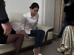 Asian 2Girl Restrain Bondage and Gagged