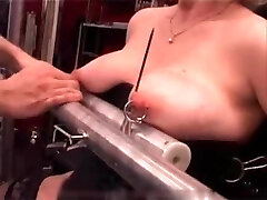 My Sexy Piercings - powerful pierced slave tortured with candle