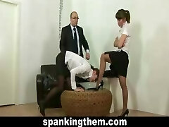 Assistant punished for being lazy