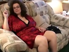 Smoked bbw with big breasts fucked