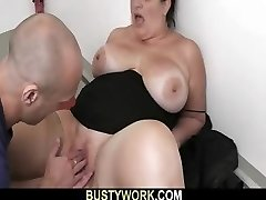Bbw in pantyhoses rails his massive rod
