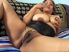 Exotic pornstar in naughty mature, latina pornography video
