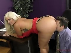 The Queen of Ass Takes A Fresh Slave - Julie Money