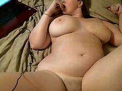 slut mature woman with big tits plowed creampie