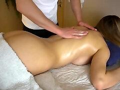 Teen gf gets sensual massage