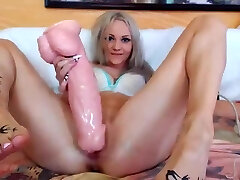 The Barely Legal-year-old whore tore the pussy in a huge horse fuck stick