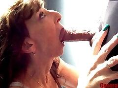 Petite Milf Blowjob Close Up Yam-sized Cock Swallow Keep Sucking