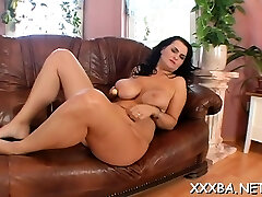 Insatiable lucie plowed for hours