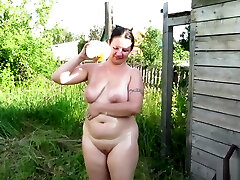 man urinating on her aunt!