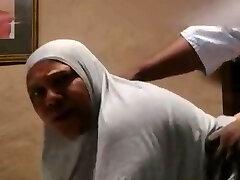 Big Boobed Muslim gets FUCKED