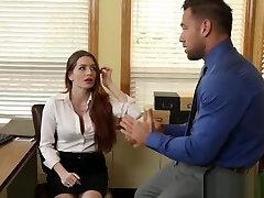 VERONICA VAIN IN HER OFFICE