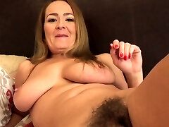 Beautiful Brown-haired Elexis Monroe Returns to Aunt Judy's!