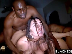 BLACKEDRAW Two Soiree Girls Cheat With BBCs After The Club