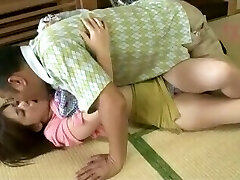Kitajima An - father in law Puts Hands On His Son Young And Harmless wife
