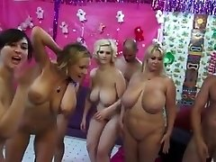 Enormous Boobs Women Orgy - they make guys mad