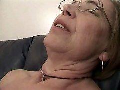Grandma likes sperm