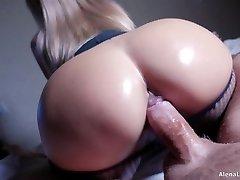 Milf Hot Riding on Hard Wood, 4K (Ultra HD) - Alena LamLam