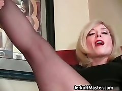 Slutty blond mum with xxl hooters part4