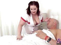 nurse Eliza revitalizes the prick