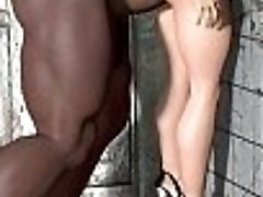 3d comic disgusting-phat-and-ugly-monste.     Adorable kinky babe..