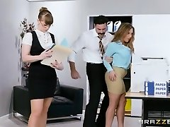Brazzers - Hot Big Tit Office Fuckslut