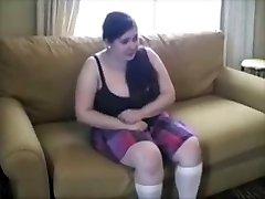 Plump Young Slut Punished With Brutal Spanking