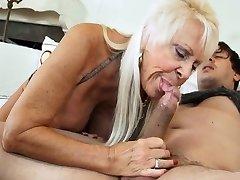 HOT Grandmas SUCKING DICKS COMPILATION 4