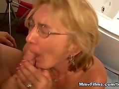 Insane superstar in Incredible Cumshots, Blonde sex scene