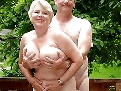Plumper Matures Grannies and Couples Living the Nudist Lifestyle