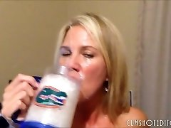 Housewife Slut Getting A Fat Facial Cumshot