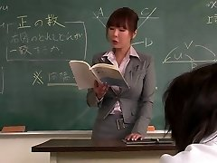 Tutor gets her face creamed by her college girl