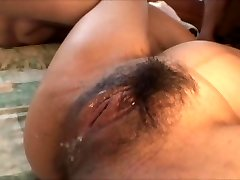 Chinese pregnant chick gangbanged by a bunch of boys