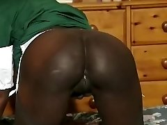 Greatest amateur Black and Ebony, Big Tits sex video