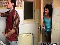 Teen homoemo boy eat jizz Debbie porked in public toilet