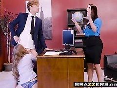 Big Breasts at Work - Porn Logic episode starring Angela White, L