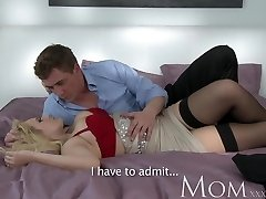 Mummy Light-haired dating single MOM just wants to feel a large dick inwards