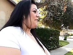 Plus-size likes his boner inside of her