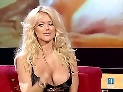 victoria silvstedt breasts oops