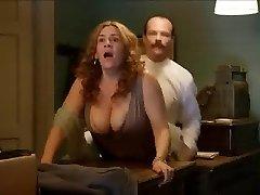 Pamela Flores - Doggystyle Hefty Tits Jiggle (Orgy scene)