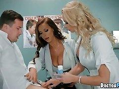 Horny MILF Nurses at the Health Center