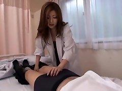 Best Japanese chick Rio Hamasaki in Incredible Nurse, Suck Off JAV movie