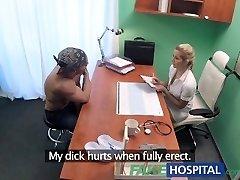 FakeHospital Torrid wet pussy solves man sausage problem