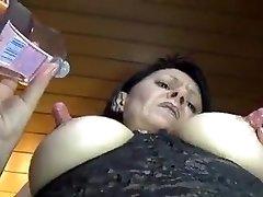 Milf with huge nipples