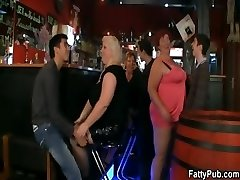 Fat damsels have fun at the soiree
