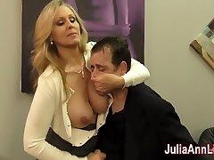 Julia Ann Jacks Son before his Date!