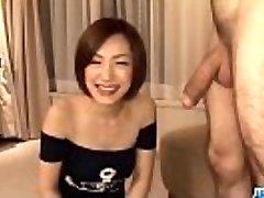 Subtitles - Japanese babe Nene Iino suck wood