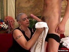 Grandmother Loves Big Dick