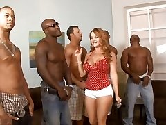 5 multiracial guys lineup so that housewife Janet Mason can prefer the finest